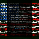 One Nation, Under Mars :: Our gods, Guns, and Bloodied Classrooms